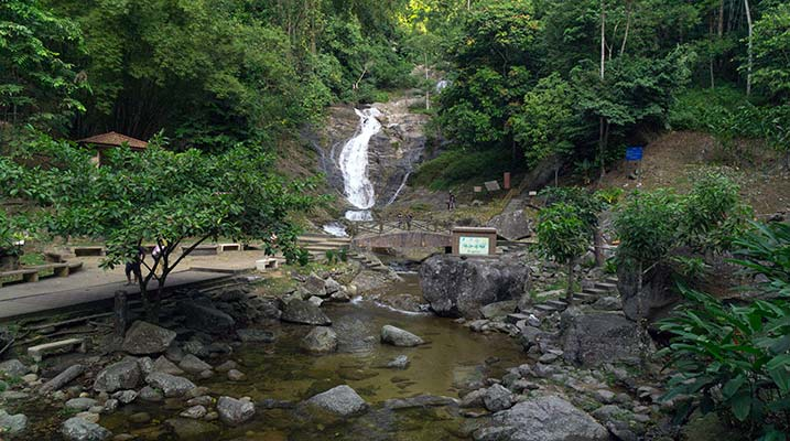 lata iskandar waterfalls